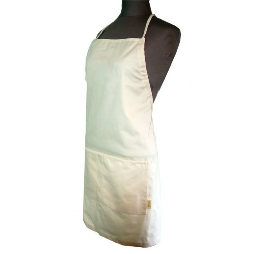 Aprons Organic Cotton Adjustable Apron - Natural Twill