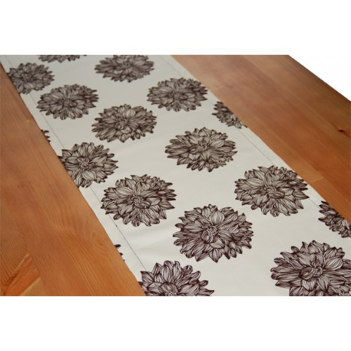 "Organic Cotton Table Runner (13"" x 72"") - Evelyn"