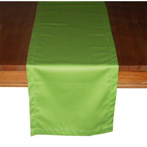 "Organic Cotton Table Runner (13"" x 72"") - Lime"