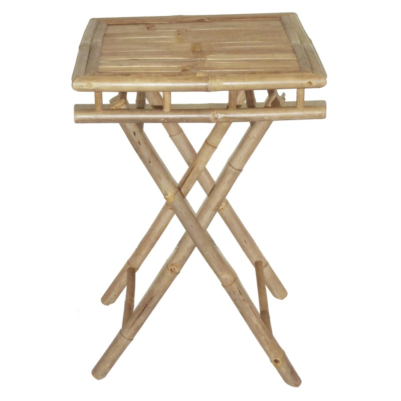Bamboo Square Table: Bamboo Folding Table Small Square