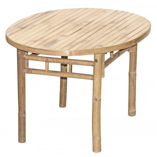 KD Oval Bamboo Table