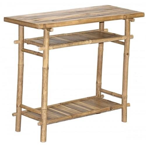 KD Bamboo Hallway Table
