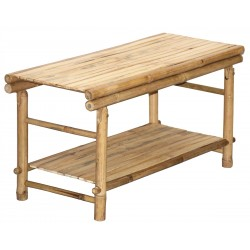 Low KD Bamboo Table / Shoe Rack