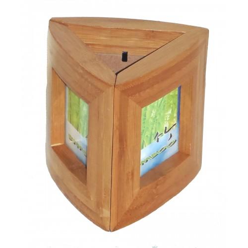 Bamboo smooth triple set frame