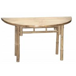 Half Moon KD Shaped Table