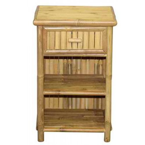 Slim Profile Nightstand with Drawer
