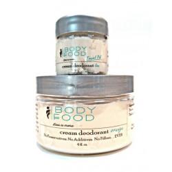 4 oz Citrus Cream Deodorant with .5 oz Travel Pal