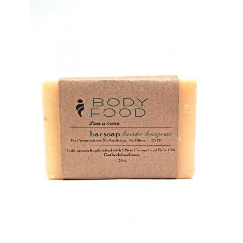 Cold Processed Handcrafted Bar Soap, 3.5 oz