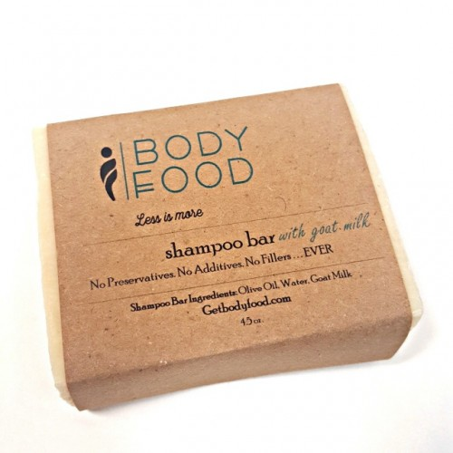 Shampoo Bar with Olive Oil and Goat Milk, 4.5 oz