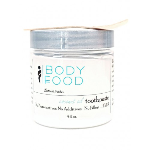Whipped Coconut Oil Toothpaste, 4 oz
