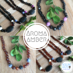Aroma Amber Baby/Children Necklace – Polished Cherry