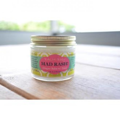 BALM Baby Mad RASH! Diaper Cream 2oz