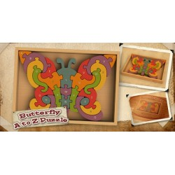 Begin Again Toys Butterfly A-Z Puzzle