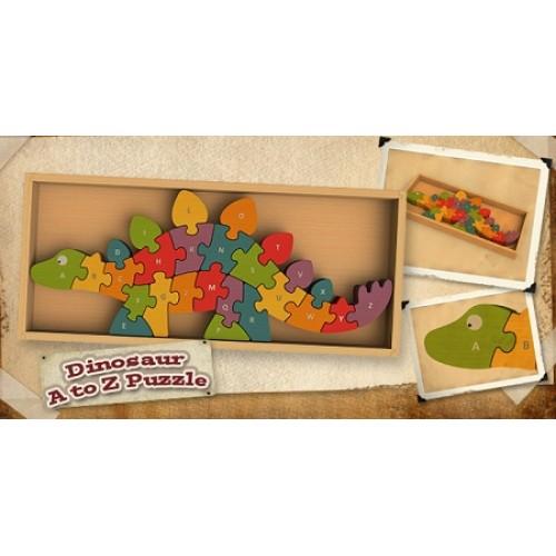 Begin Again Toys Dinosaur A-Z Puzzle