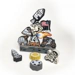 Begin Again Toys Lunar Lander Stacking Game And Play Set