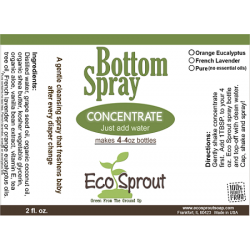 Eco Sprout Bottom Spray 2 Pack Concentrate