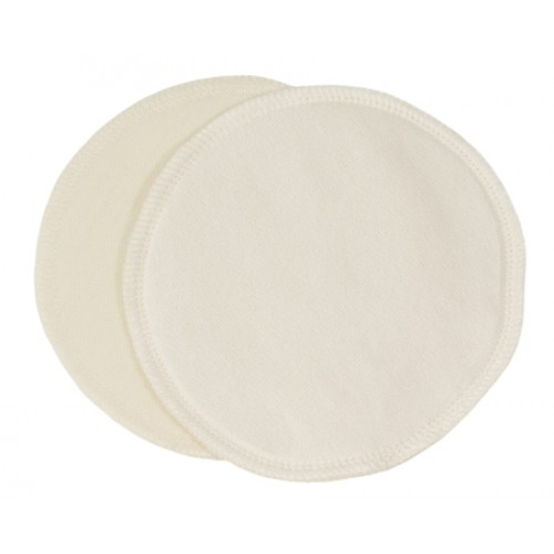 Imse Vimse Silk and Wool Nursing Inserts 10cm - 1 Pair