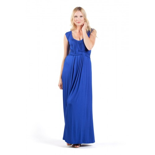 Savi Mom Nursing & Maternity Maxi Gown