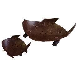 Coconut Fish Soap Dish