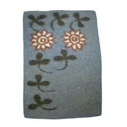 Felt Doormat with Clover Design