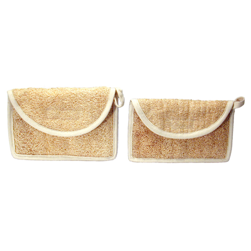 Loofah Cosmetic Bag and Pouch