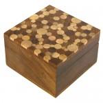 Shesham Square Wooden Box