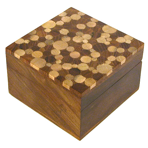 Sheesham Square Wooden Box