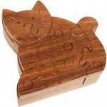 Sitting Cat Puzzle Box