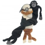 Mantled Howler Monkey Scarf from Colombia