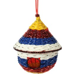 Recycled Plastic Birdhouse from India