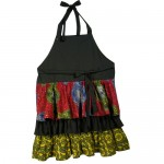 Recycled Ruffle Apron