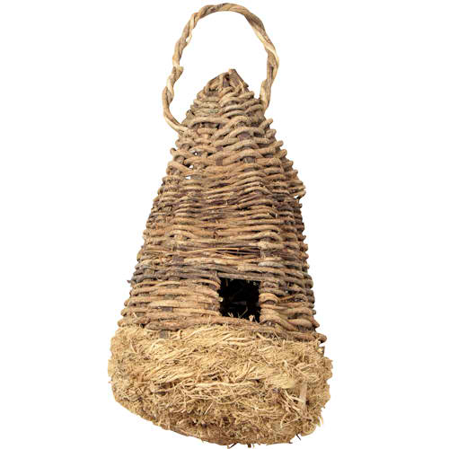 Vine and Vetiver Birdhouse from Haiti
